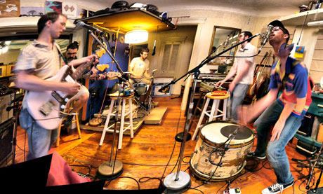 MiniBoone on Band in Boston